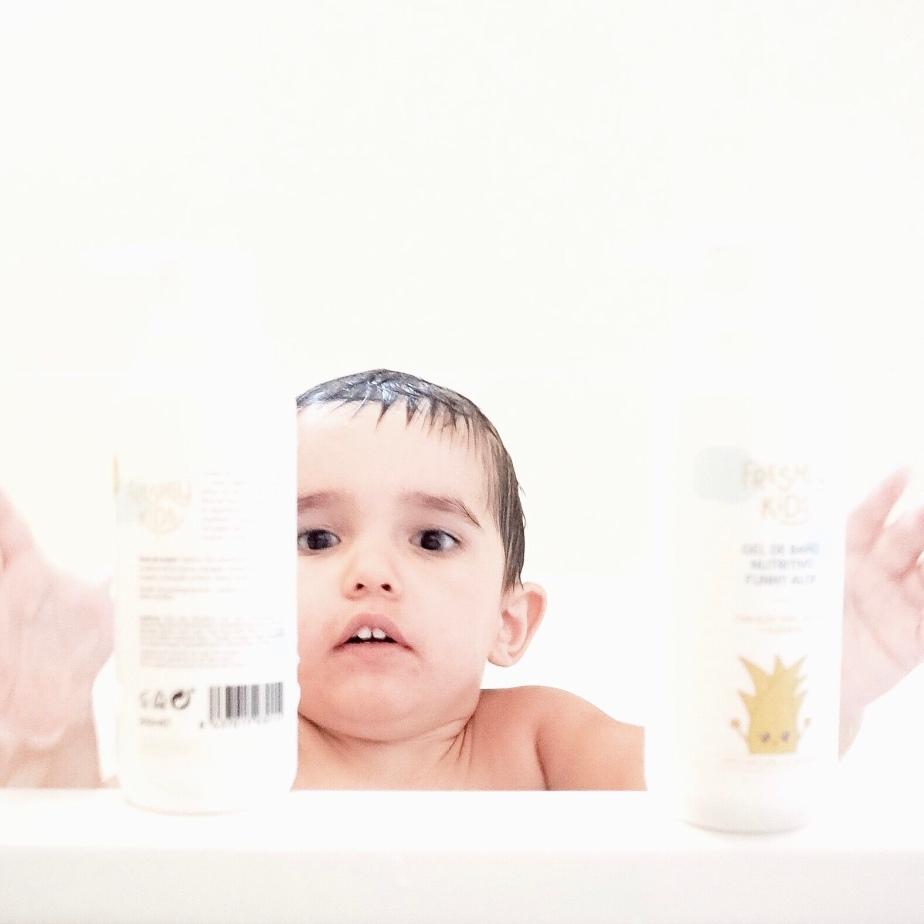 En el baño con FreshlyKids